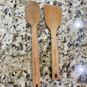 Calphalon Wooden Cooking Spoon/Spatula Bundle